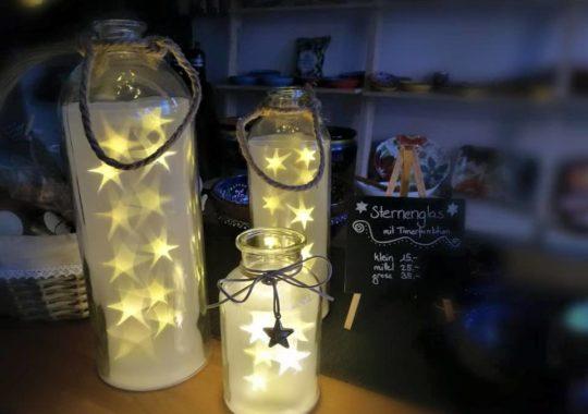 Sternengläser Detail