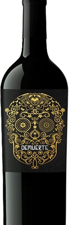 vino-tinto-de-muerte-gold-wineryart